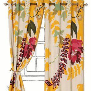 """Anthropologie Curtains - Finnia - 50"""" X 63"""" - NIB"""